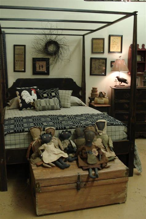 primitive bedroom decorating ideas cute bedroom idea primitive colonial bedrooms pinterest