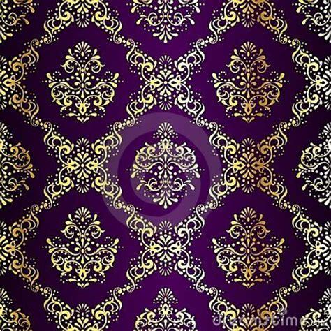 pattern making hindi intricate gold on purple seamless sari pattern projects