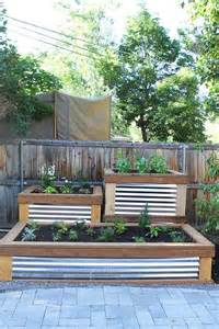 build your own raised planter box woodworking projects