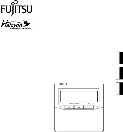 Fujitsu Air Conditioner Air Conditioner Cassette Type Manual