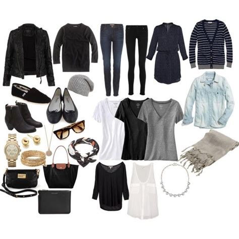 minimalist packing by jessica5eme on