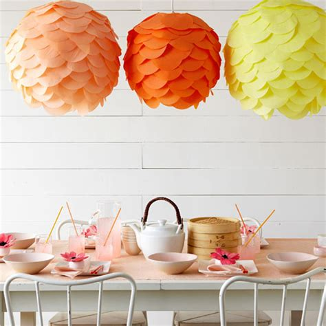 Paper Lanterns Make - paper lanterns on lanterns and tissue