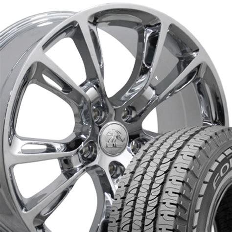 Jeep Wrangler Wheels On Grand 20 Quot Chrome Grand Srt Wheels Tires Set Of 4 Rims