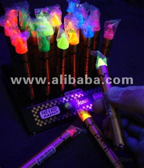 le neon uv fluorescent uv active neon make up pen buy makeup product on alibaba