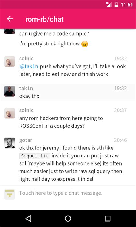 Gitter Chat For Github More Android Apps On Play