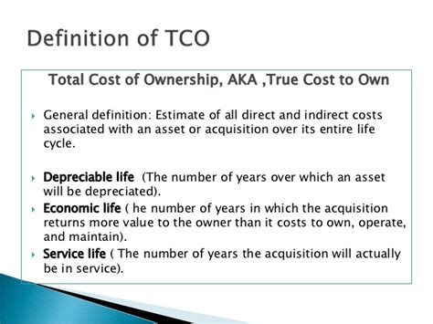 Of Mba Total Cost by Total Cost Of Ownership What Is It And Why Do We Need