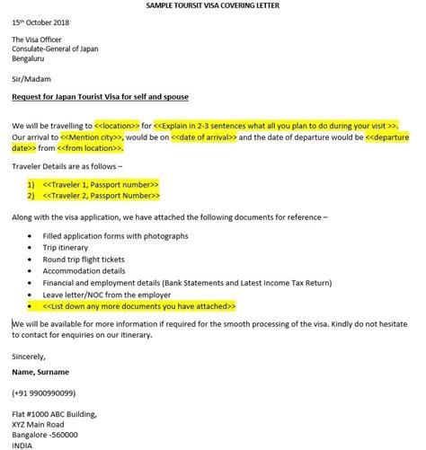 write visa covering letter schengen