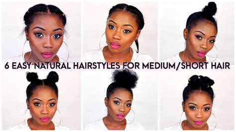 back to school hairstyles for relaxed hair 6 back to school quick natural hairstyles for short medium