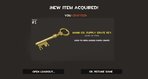 da co tf2 how to craft a mann co supply crate key