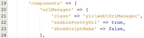 yii gridview tutorial tutorial yii 2 0 การจ ดการ url แบบสวยงาม pretty url