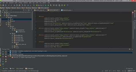 android studio switch layout debugging unable to compile project in android studio
