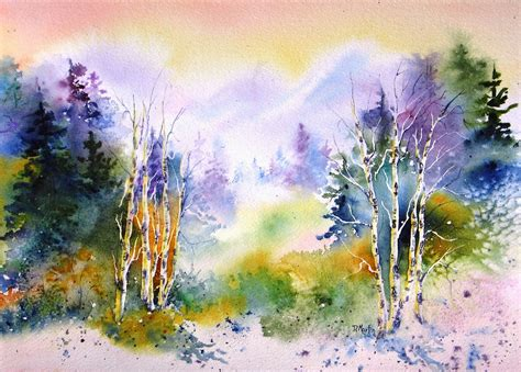 water color artists donna l martin watercolor landscape painting