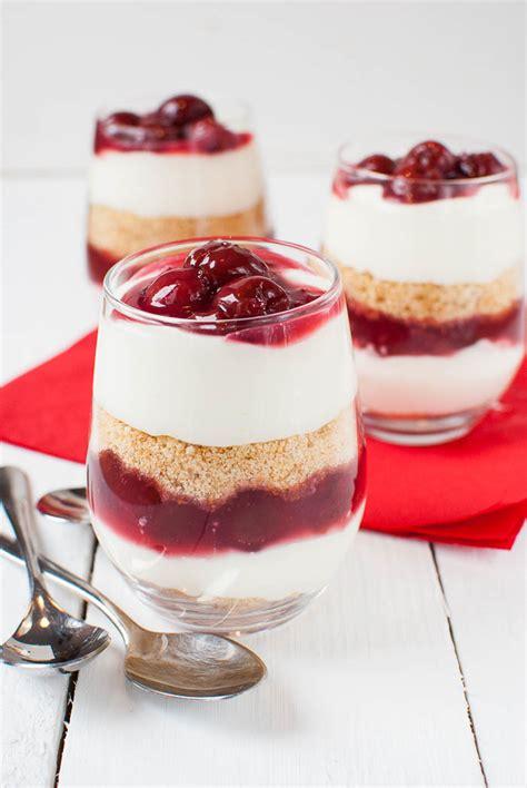 nachtisch im glas kirsch k 228 sekuchen dessert im glas ohne backen kaffee
