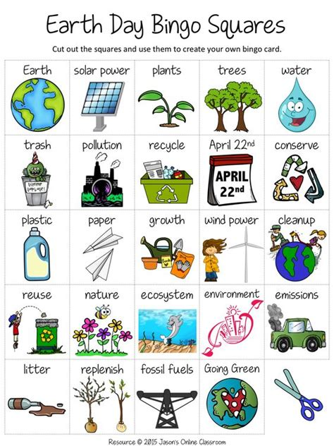 create your own bingo card template free earth day create your own luck bingo tpt free