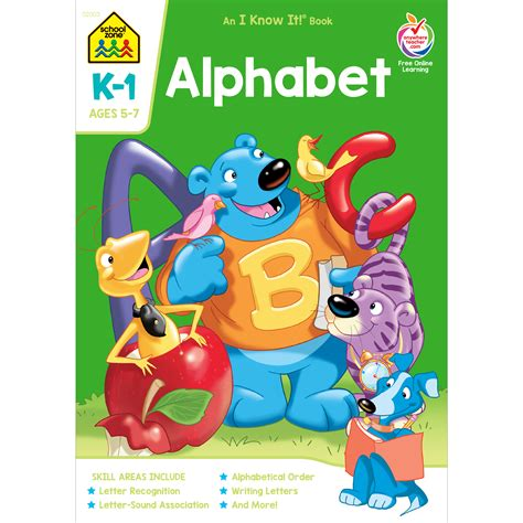 Sale Puzzle Edukasi Alphabet Road 2 alphabet k 1 workbook will teach your child letter sounds and recognition school zone