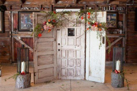 Furniture Their Backdrops by New Rustic Wedding And Country Trends Vines Ceremony
