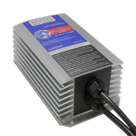 patriot battery charger patriot series 24v 12 on board smart charger tps1212