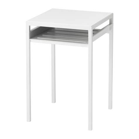 Ikea White Side Table Nyboda Side Table W Reversible Table Top White Gray Ikea