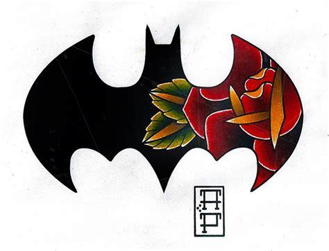 tattoo old school batman batman logo tattoos for girls www imgkid com the image