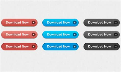 format html buttons css ultimate collection of free buttons in psd format naldz