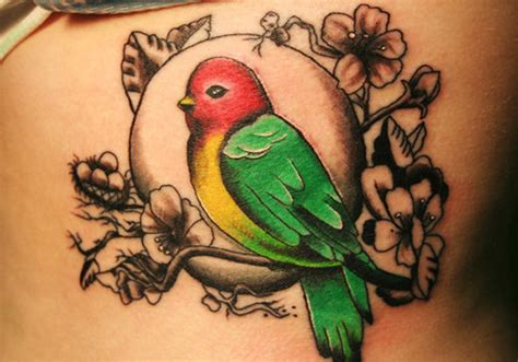 love birds tattoo 25 exciting bird tattoos creativefan