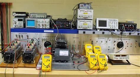 electrical circuit lab gannon electric drives lab z347
