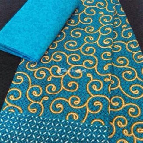kain batik katun berbagai motif murah ukuran 210 x 110 cm printing tanjung jabung barat jambi