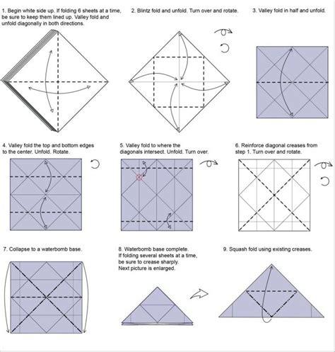 Origami Fireworks Diagram - origami fireworks yami yamauchi