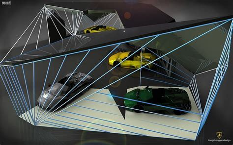 lamborghini showroom building 83 best images about car display center on pinterest