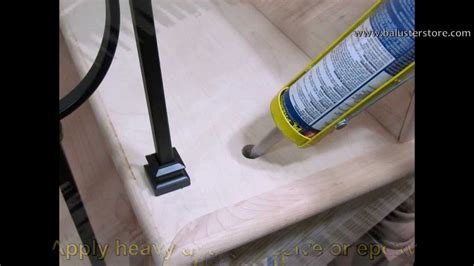how to install a stair banister how to install iron balusters iron stair parts stair building supplies home