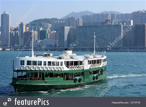 ferry boat victoria ferry boat in victoria harbor hong kong photo