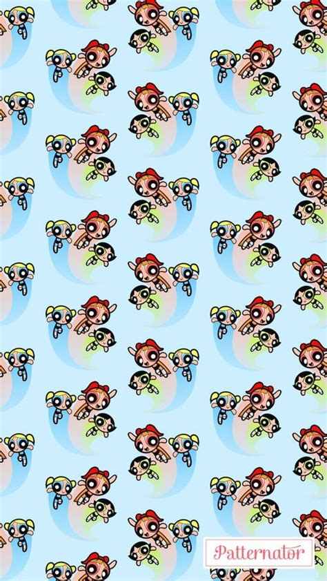 patternator animation wallpaper patternator and background image powerpuff