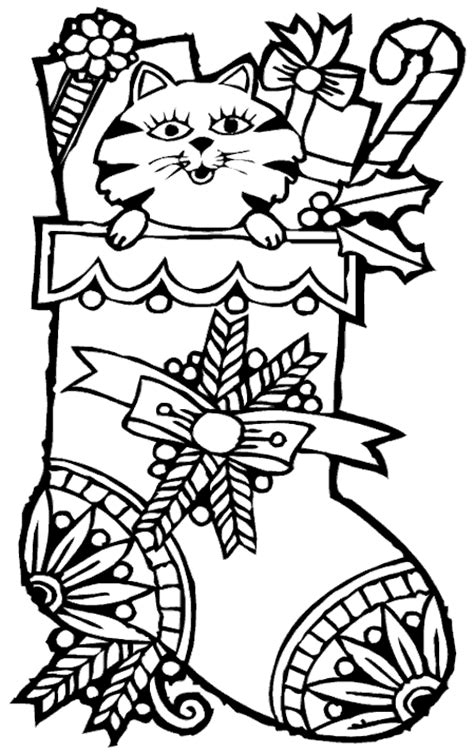 cute stocking coloring page cute and better christmas stocking coloring pages