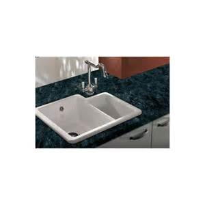 Top Mount Sinks Kitchen Shaws Ceramic Classic Kitchen Sink 1 5 Topmount Or Undermount