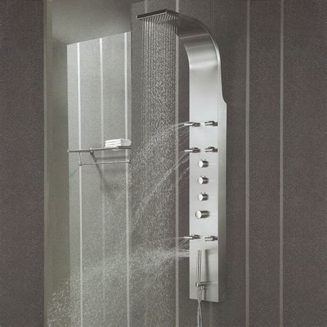 bath shower spray stainless steel shower panel tower system spray