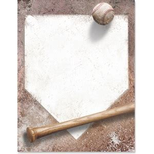 Home Plate Border Papers   PaperDirect's