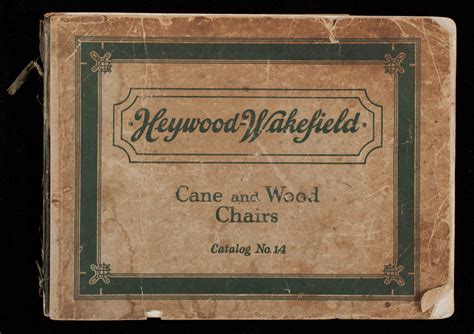 heywood wakefield cane  wood chairs catalog   general office  warehouse winter