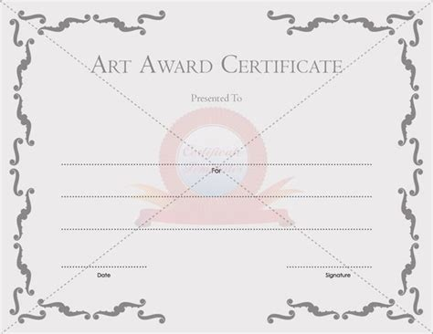 certificate templates free printable certificate