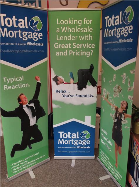 trade shows in connecticut 2014 total mortgage s retractable banners