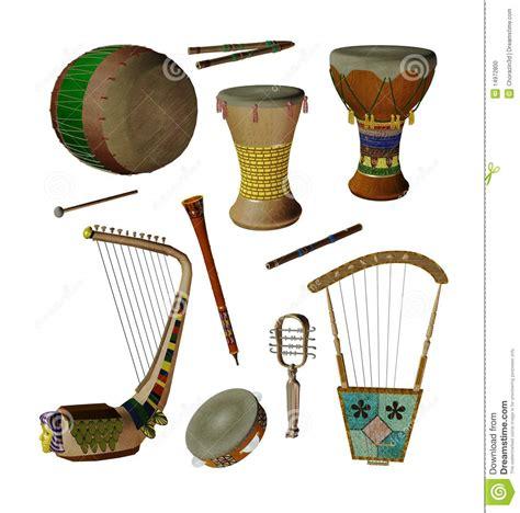 imagenes de instrumentos musicales egipcios instrumentos de m 250 sica egipcios foto de archivo imagen