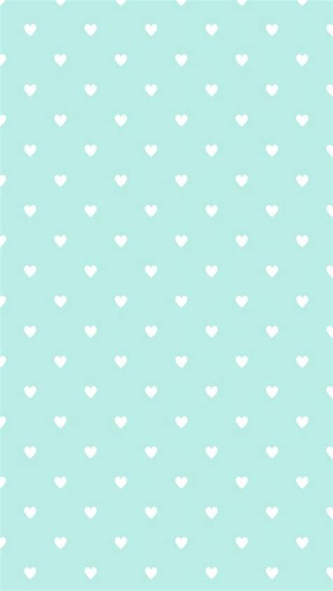 cute green pattern wallpaper mint blue heart shaped pattern iphone background iphone