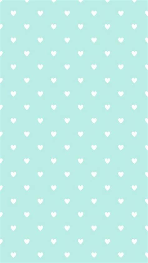 cute mint pattern mint blue heart shaped pattern iphone background iphone