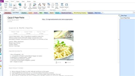 Recipe Card Template Onenote by Evernote Recipe Template Besto