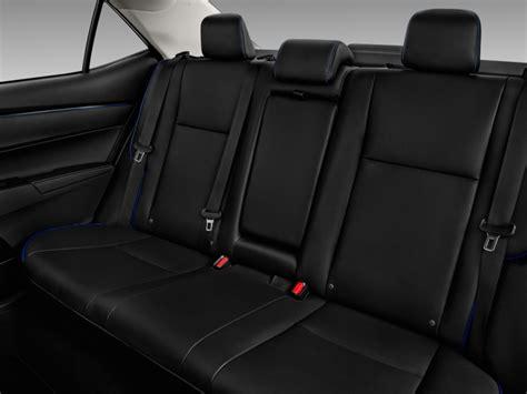 Toyota Seats Image 2017 Toyota Corolla Xse Cvt Automatic Natl Rear