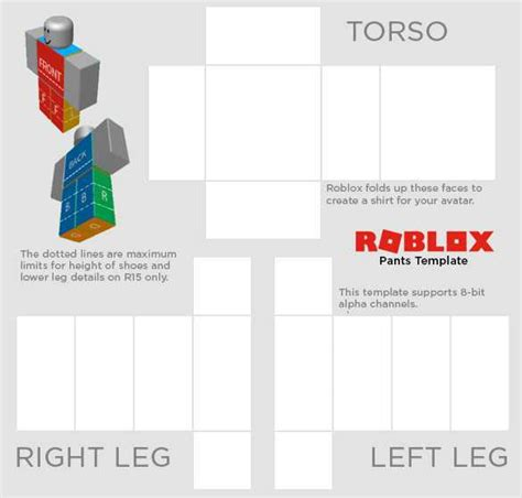 33 Best Of Roblox Pants Template Scheme Resume Templates Free Roblox Templates
