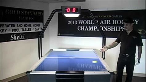 professional air hockey table tournament pro air hockey table by gold standard