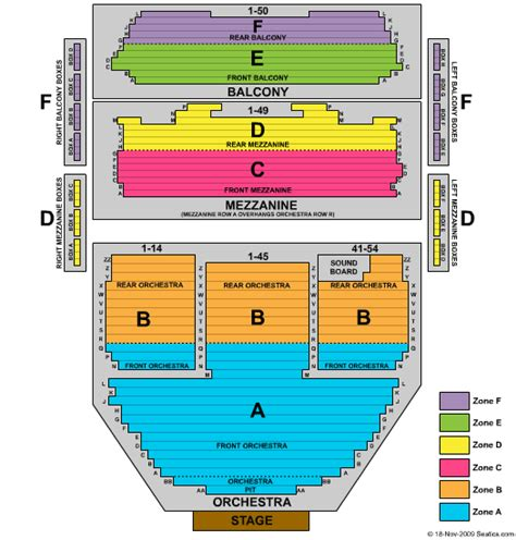 ahmanson theatre seating chart los angeles ahmanson theatre seating chart ahmanson theatre los