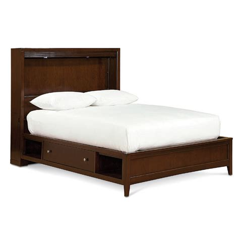 Bed Platform With Storage Freestyle Bookcase Platform Bed With Storage