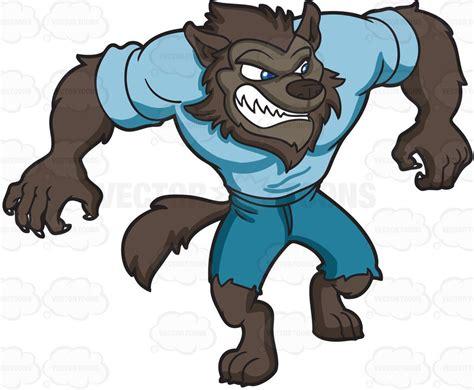 List Of Home Design Blogs by A Sleek Werewolf Vector Clip Art Cartoon