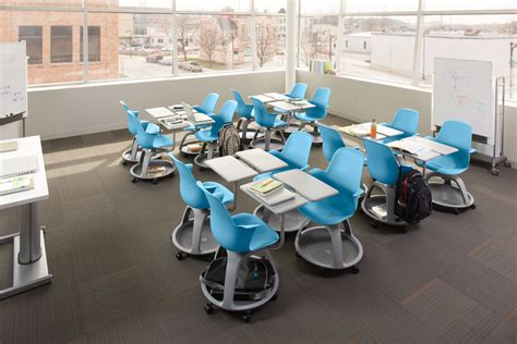 cool school desks the steelcase node desk